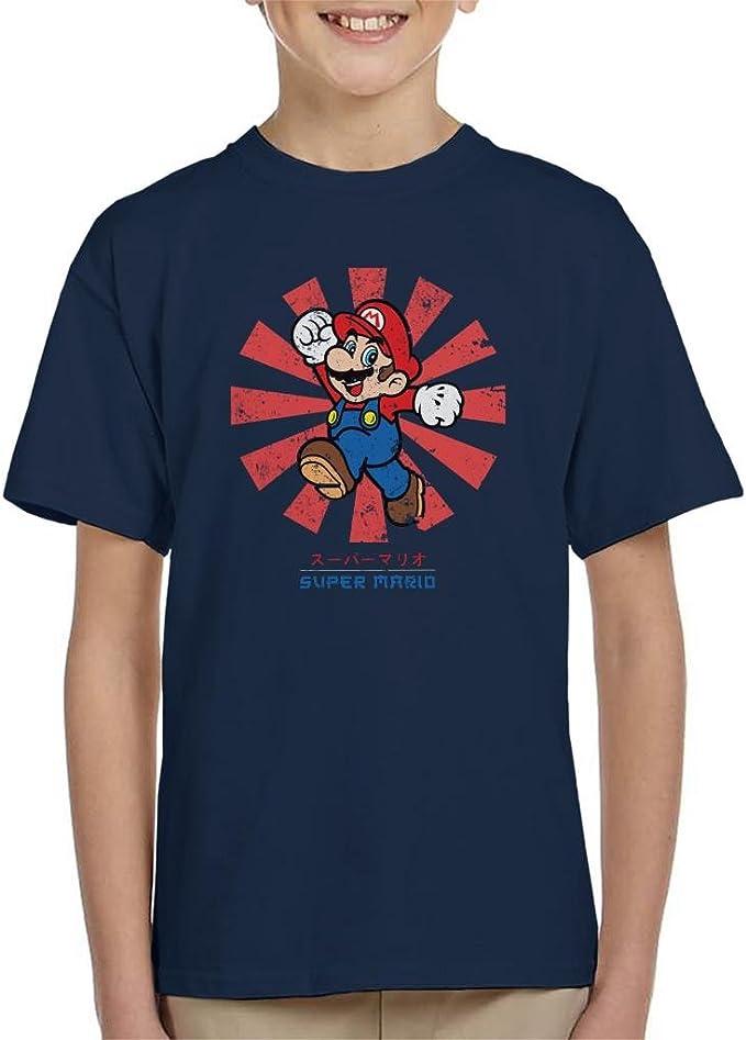 Cloud City 7 Super Mario Retro Japanese Kid's T Shirt