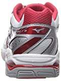 Mizuno Wave Bolt 4 Womens wh-rd, White/Red, 8.5 D US