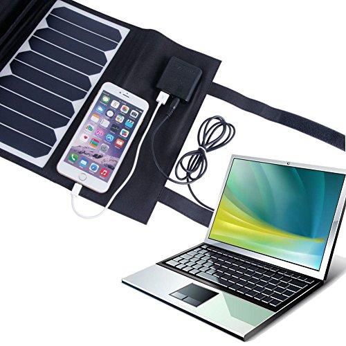 KINGSOLAR™ Highest Efficient 60W Foldable Solar Panel Portable Solar Charger Dual Output (USB Port + DC Output) by KINGSOLAR™ (Image #5)