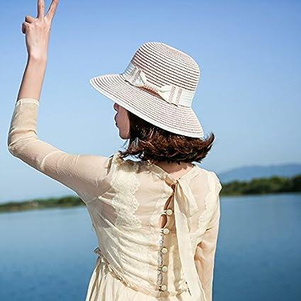 MoGist - Sombrero de Verano para Mujer ae723bc0bfc