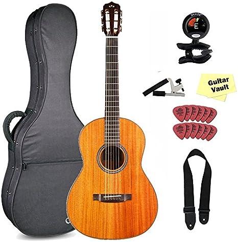 Cordoba Leona l9-e cuerdas de acero de guitarra con Polyfoam funda ...