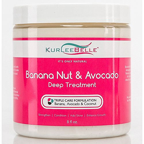 Kurlee Belle Banana Nut & Avocado Deep Treatment - Hair Treatment Banana