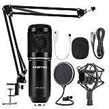 ZINGYOU Condenser Microphone Bundle, BM-800 Mic Set for Studio Recording & Brocasting