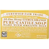 Bar Soap, Organic, Citrus, 5 oz ( Multi-Pack)