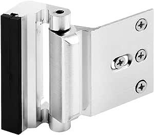 Defender Security Prime-Line Products U 10827 Door Blocker Entry Door Stop, Satin Nickel U 11325