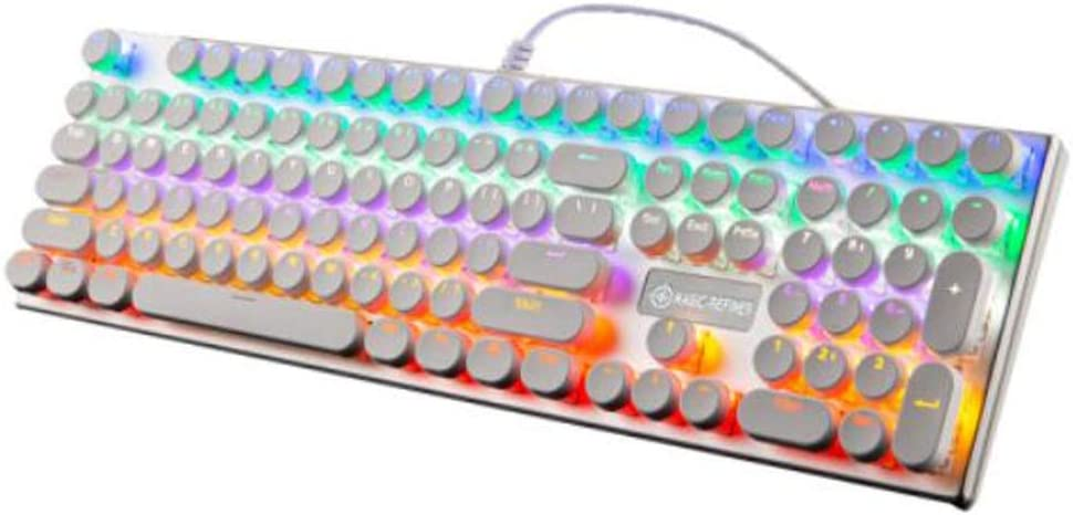 Gaming Keyboard Stick core Waterproof Green Axis Hongyushanghang Mechanical Keyboard Wired Keyboard Enjoy Comfortably. 108-key Backlit Keyboard