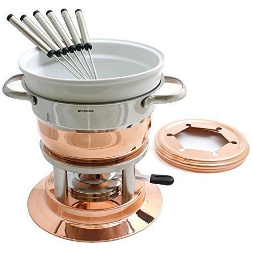 Swissmar Lausanne 11 Piece Copper Fondue (Copper Fondue Set)