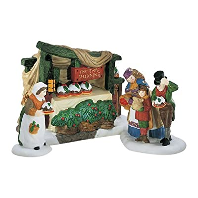 Department 56 Heritage Village Collection Christmas Pudding Costermonger 58408 by Department 56