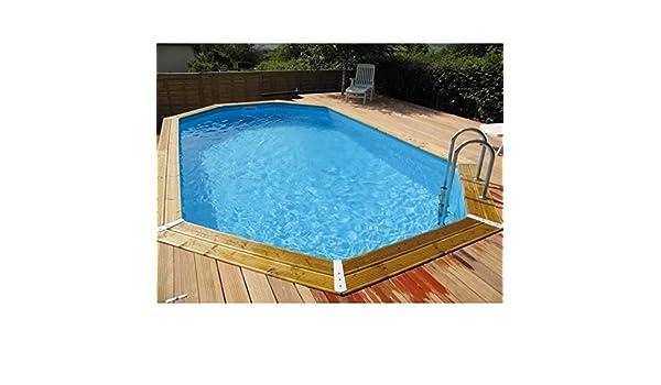 Swimming Pool Wood Jasmine 490x355xH130 Ubbink: Amazon.ca: Home U0026 Kitchen