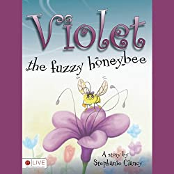 Violet, the Fuzzy Honeybee