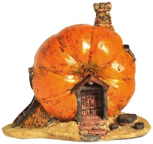 (Top Collection Enchanted Story Garden and Terrarium Pumpkin Fairy House Outdoor Decor)