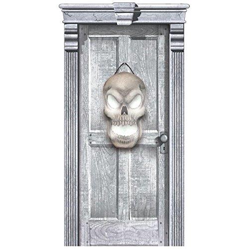 (Light-Up Hanging Skull Door | Halloween)