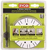 Ryobi A10DK41 Drywall Repair Kit with Hole Saw and Hex Shank Drill Bit