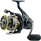 "Daiwa BG4500 BG Saltwater Spinning Reel, 4500, 5.7: 1 Gear Ratio, 6+1 Bearings, 43.10"" Retrieve Rate, 22 lb Max Drag…"