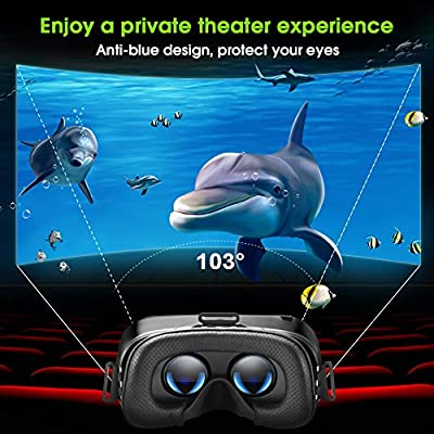 VR Headset for iPhone Android Phones, GEARSONE Virtual