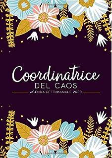 Cucina Moderna Giugno 2020.Coordinatrice Del Caos Agenda Settimanale 2019 2020 1