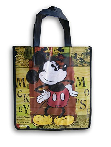 (Disney Mickey Mouse Old Fashioned Tote Bag - 13 x 13 Inch)