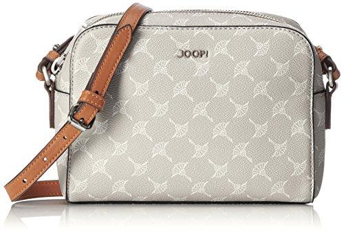 Joop Damen Cortina Cloe Shoulderbag Shz Schultertasche, 6x15x21 cm Grau (Light Grey)