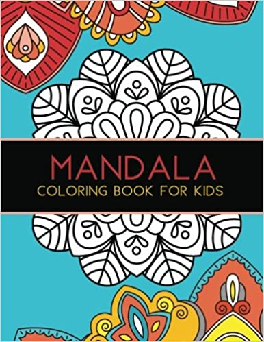 Mandala Coloring Book For Kids Big Mandalas To Color Relaxation 1 Joy Tree Games And Activities 9781540861245 Amazon Books