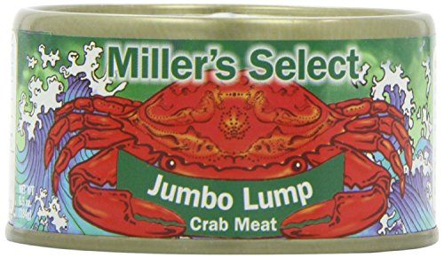Miller's Select Jumbo Lump Crab Meat 6.5 Oz (Pack of 4)