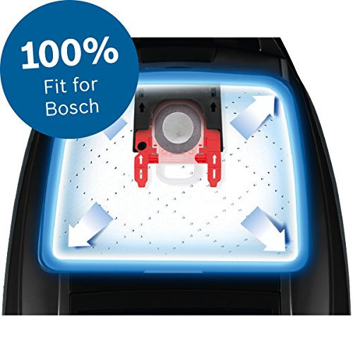 Bosch Megaair Super Tex Type G Xxl Vacuum Bag Large 5 Litre Capacity Pack Of 4 And Includes A Micro Hygiene Filter For The Motor