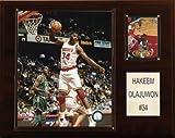 NBA Hakeem Olajuwon Houston Rockets Player Plaque