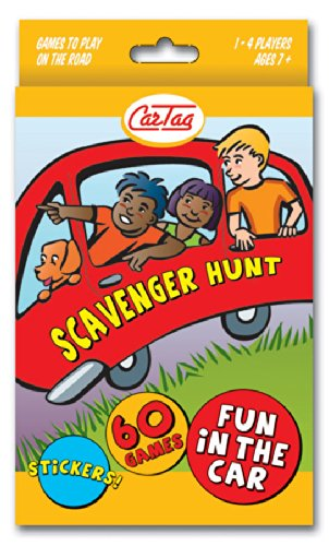 Scavenger Hunt Travel Edition - Car Tag Scavenger