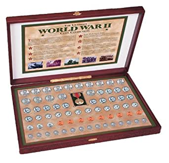 American Coin Treasures American Coin Treasures Complete World War II Coin Collection Novelty