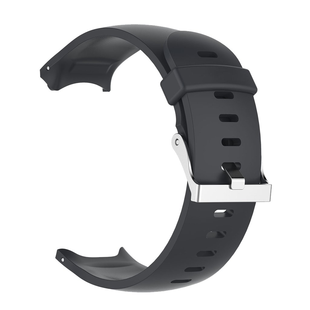 baoblazeソフトシリコンスマートウェア手首バンドストラップのバックル交換用for Garmin Approach s3スマート腕時計 ブラック ブラック B0796TWG8F