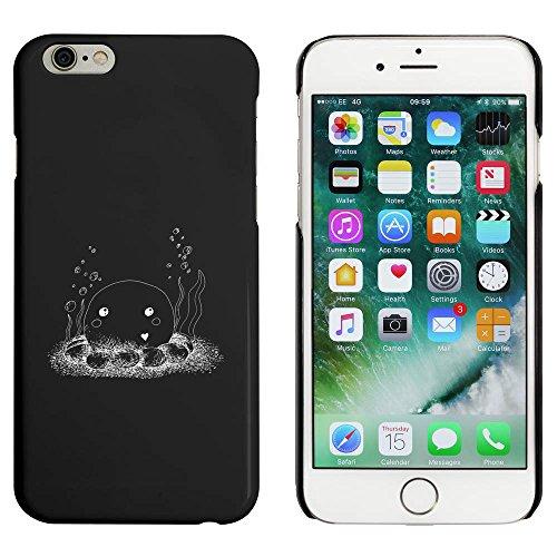Noir 'Poulpe' étui / housse pour iPhone 6 & 6s (MC00038877)