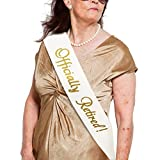 "JPACO""Officially Retired!"" Sash - Retirement Sash for Retired Event & Work Party, Novelty Gift for Men and Women"
