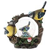 Elanze Designs Bird Figurine 45MM Glitter Water