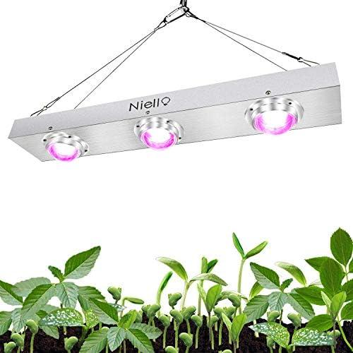 600w LED COB Grow Light Full Spectrum, lampada a led per piante, 120 gradi riflettore impianto Light 3pcs 200w COB con alto valore e alto lume per piante Veg e fiori