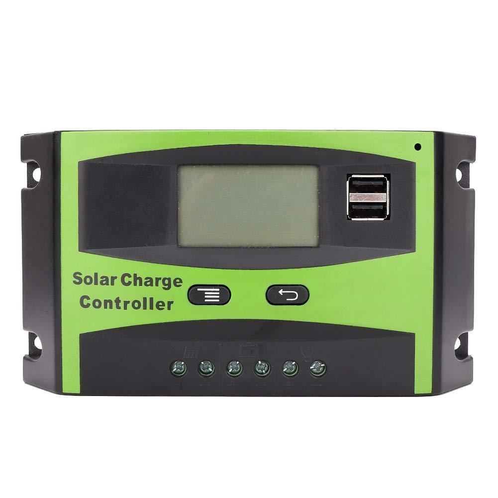 Qinlorgo Cargador Solar 12V / 24V 30A MPPT Controlador de ...