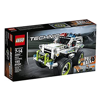 LEGO Technic Police Interceptor 42047 Building Kit: Toys & Games