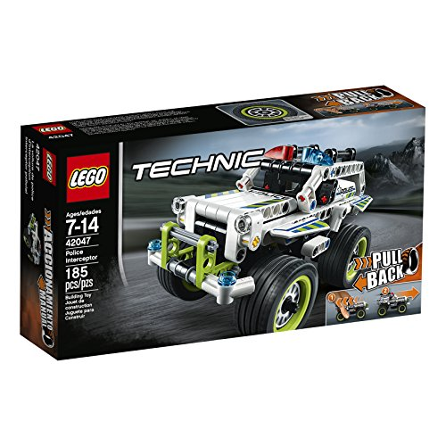 LEGO Technic Police Interceptor 42047 Building Kit (Boat Hydroplane)