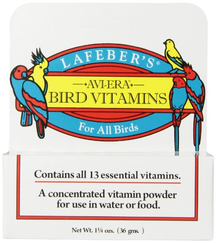 Lafeber's Avi-Era Powdered Bird Vitamin 1.25 oz 0.04 Ounce Pellets