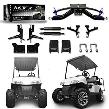 Golf Cart Lift Kit 6 A-Arm will fit E-Z-Go RXV Electric Golf Carts by Madjax