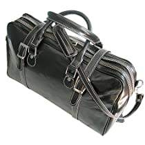 Floto Luggage Trastevere Duffle Leather Weekender