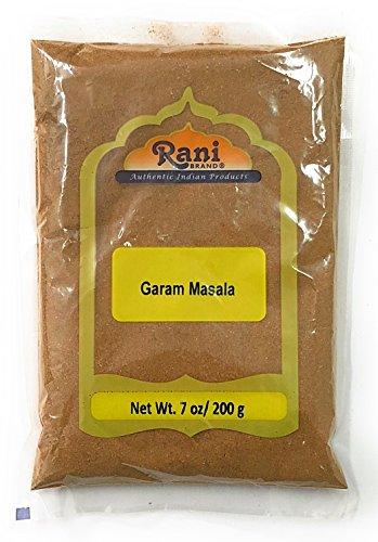 Rani Garam Masala Indian 11 Spice Blend 7oz (200g) ~ Salt Free | All Natural | Vegan | Gluten Free Ingredients | NON-GMO