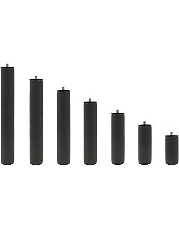 KAMA HAUS Patas Metálicas Redondas | Rosca Metrica 10 (1cm) | Packs de Varias