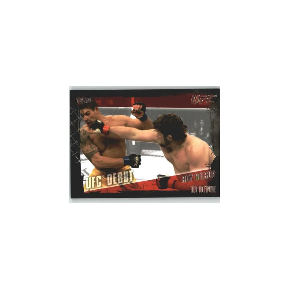 2010 Topps UFC Trading Card # 149 Roy Nelson (Ultimate Fighting