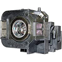 AuraBeam Professional Epson ELPLP50 Projector Replacement Lamp with Housing (Powered by Osram)