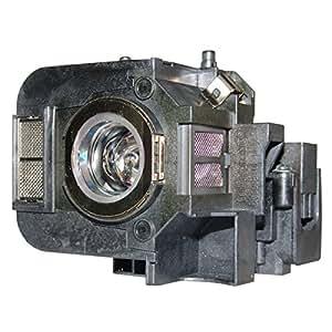 Lampara de Reemplazo con Carcasa AuraBeam Profesional para Proyector Epson H357A (accionado por Osram)