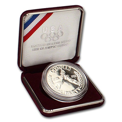 Olympic Commemorative Coin (1988 S US Commemorative Proof Silver Dollar Olympic $1 OGP US Mint)