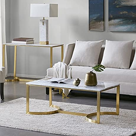 Coffee Table Rockport Marble Gold