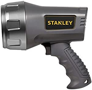 Stanley 3W Led + 6 Led Rechargeable Spotlight with Halo Power Saving Mode