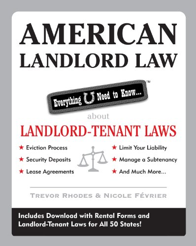 American Landlord Law: Everything U Need to Know About Landlord-Tenant Laws (Lease Security Deposit)