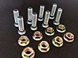 Arctic Cat Extended ATV Wheel Studs W 15MM Hex Nut by R.A.D. Upgrade for DVX 90, 300, TRV 400, 500, 700, WILDCAT, PROWLER GOLD Grade 8 100% MADE IN THE U.S.A.