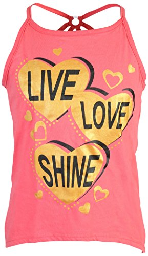 Real Love Girl's 4-Piece French Terry Short Sets, Live Love Shine, Size 5/6' by Real Love (Image #3)
